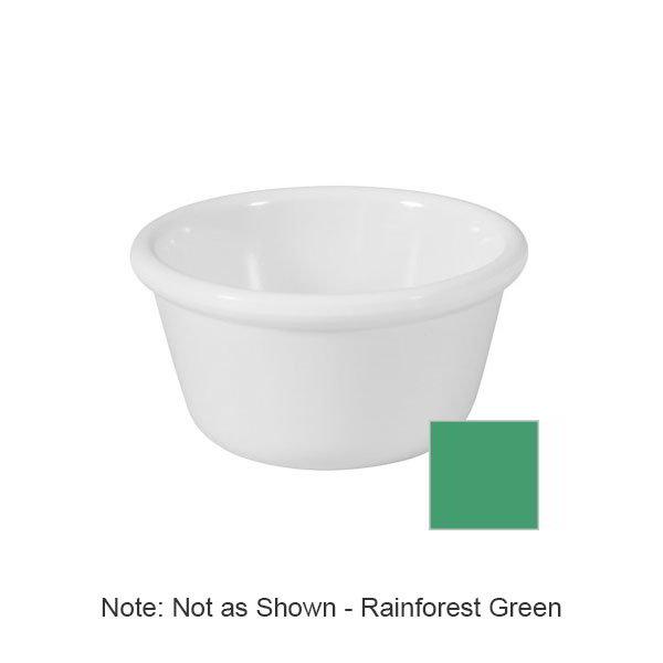 GET RM-400-FG 4oz Ramekin, Plain Cone-Shaped, Melamine, Rainforest Green