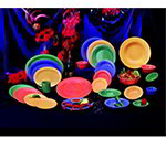 GET RM-400-MIX 4oz Ramekin, Plain Cone-Shaped, Melamine, Mardi Gras Mix