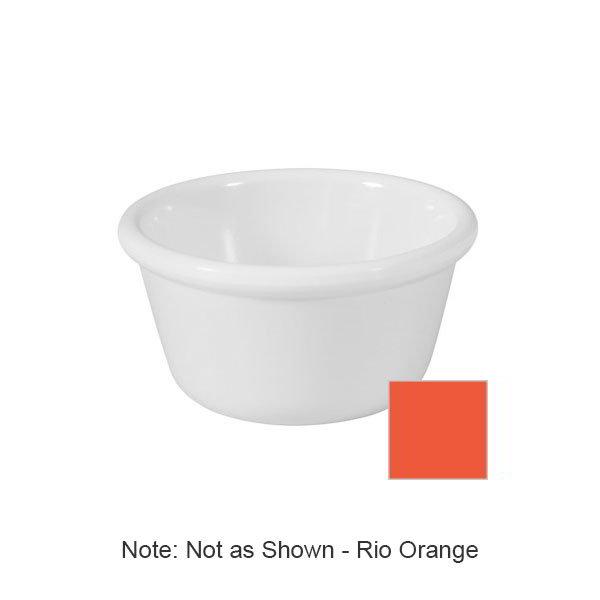GET RM-400-RO 4oz Ramekin, Plain Cone-Shaped, Melamine, Rio Orange