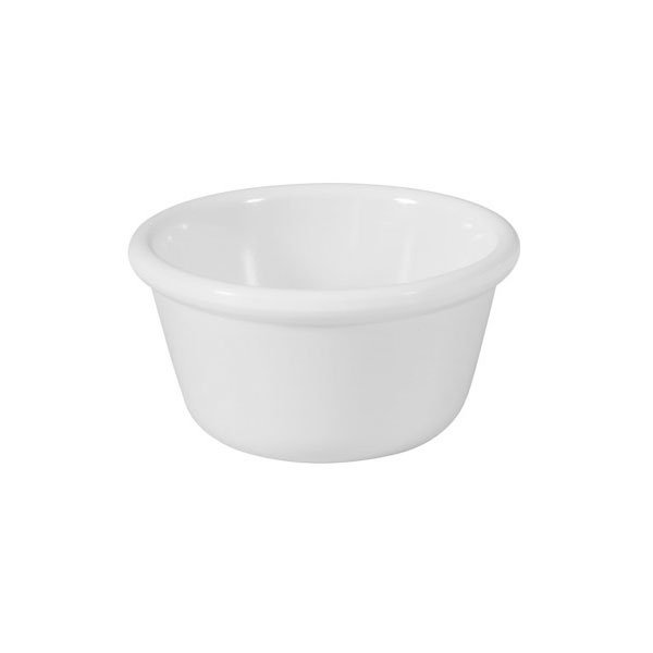 GET RM-400-W 4oz Ramekin, Plain Cone-Shaped, Melamine, White