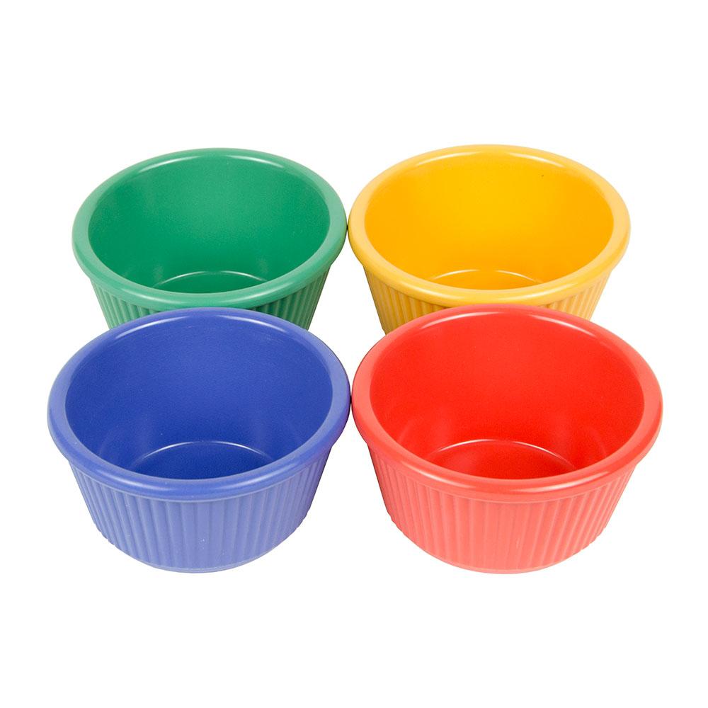 GET RM-401-MIX 4-oz  Ramekin, Melamine, Multi-Colored