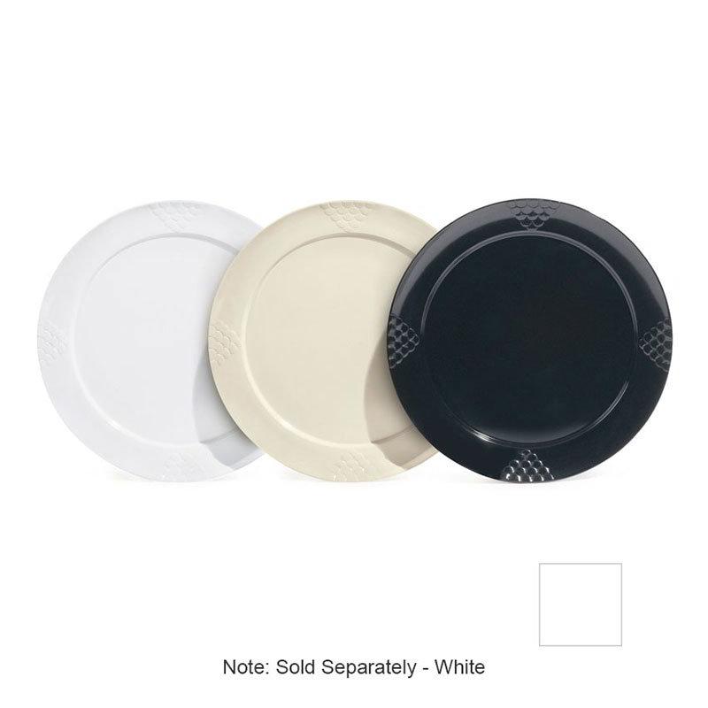 """GET RP-20-W 20"""" Round Plate, Melamine, White"""