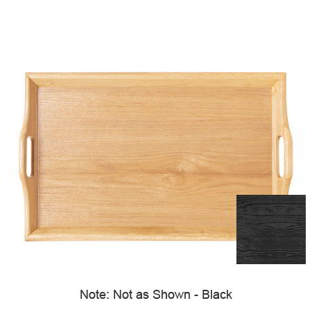 "GET RST-2517-1-BK Rectangular Room Service Tray, 25x16"" , Black"