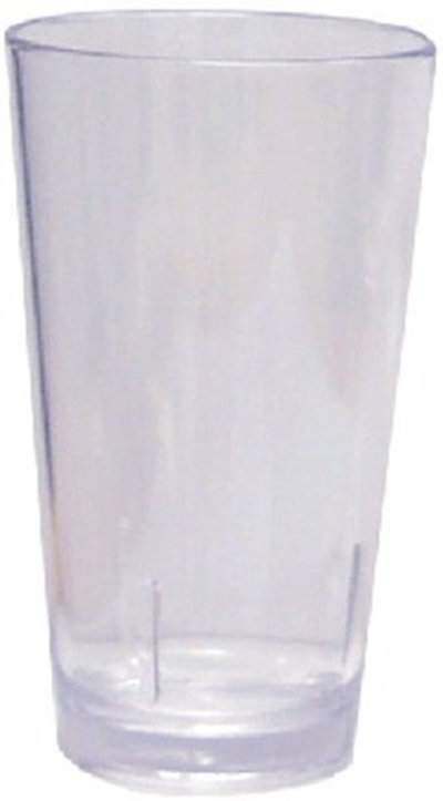 GET S-16-CL 16 oz Shaker/Liter, Clear