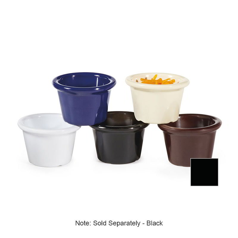 G.E.T S-610-IV 1-1/2 oz Ramekin Plain Melamine Bone White Restaurant Supply