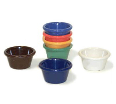 GET S-620-RO 2-oz Ramekin, Plain, Melamine, Rio Orange
