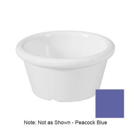 GET S-620-PB 2-oz Ramekin, Plain, Melamine, Peacock Blue