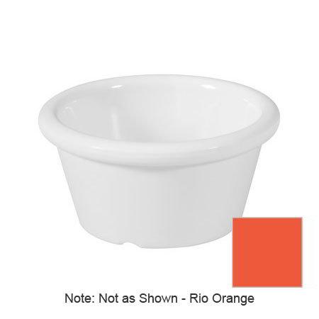 GET S-620-RO 2-oz Ramekin, Plain, Melamine, Rio Orange