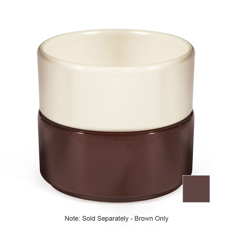 GET S-640-BR Ramekin, 4-oz, Plain Straight, Melamine, Brown