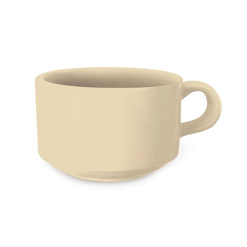 GET SC-10-T 10oz Soup Mug, SAN Plastic, Tan