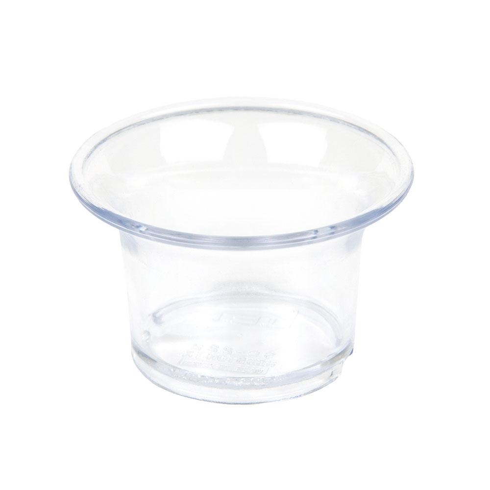 GET SC-222-CL 2oz Sauce Cup, Clear Plastic