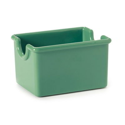 GET SC-66-FG Sugar Caddy, Plastic, Rainforest Green