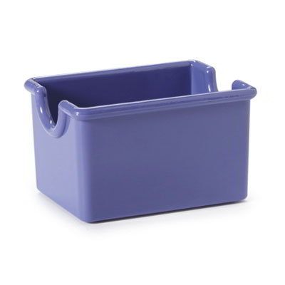 GET SC-66-PB Sugar Caddy, Plastic, Peacock Blue