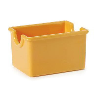 GET SC-66-TY Sugar Caddy, Plastic, Tropical Yellow