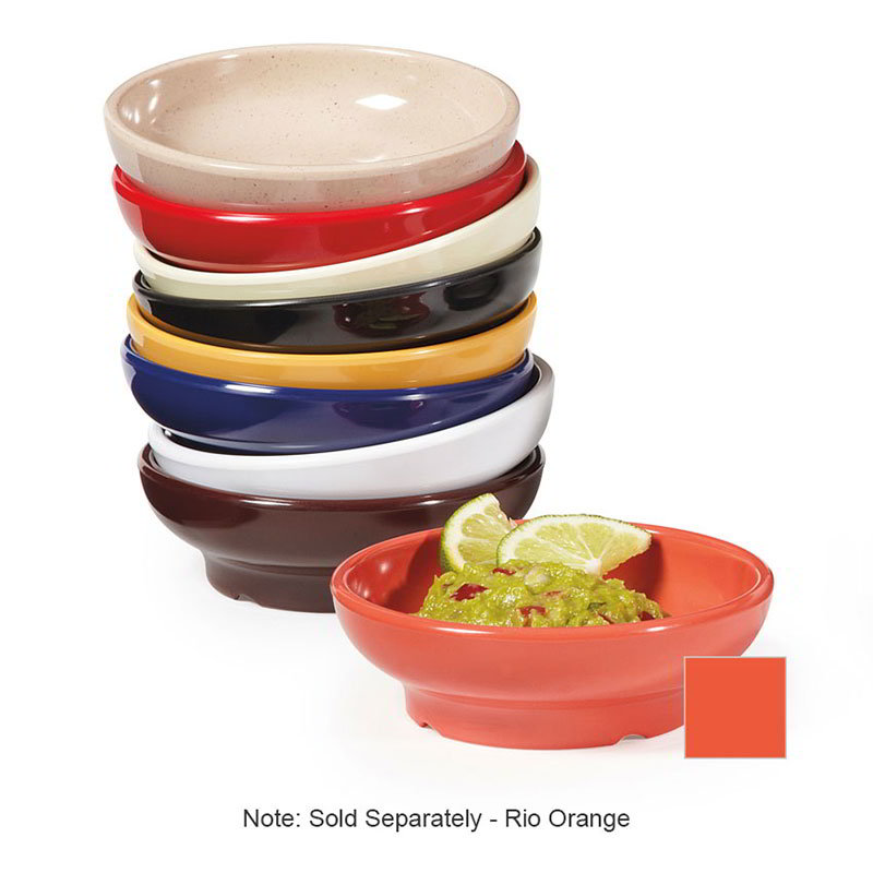 GET SD-05-RO Salsa Dish, 5-oz, Melamine, Rio Orange