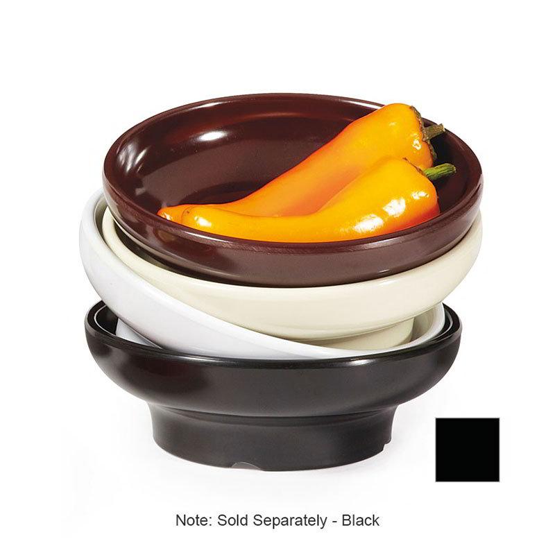 GET SD-06-BK 6-oz Salsa Dish, Melamine, Black