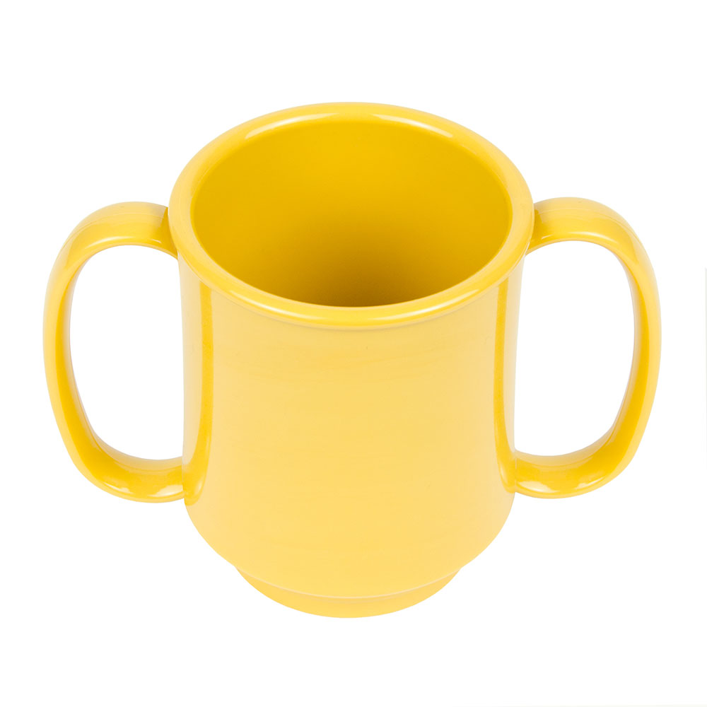 GET SN-103-TY 8-oz Coffee Mug, Plastic, Yellow