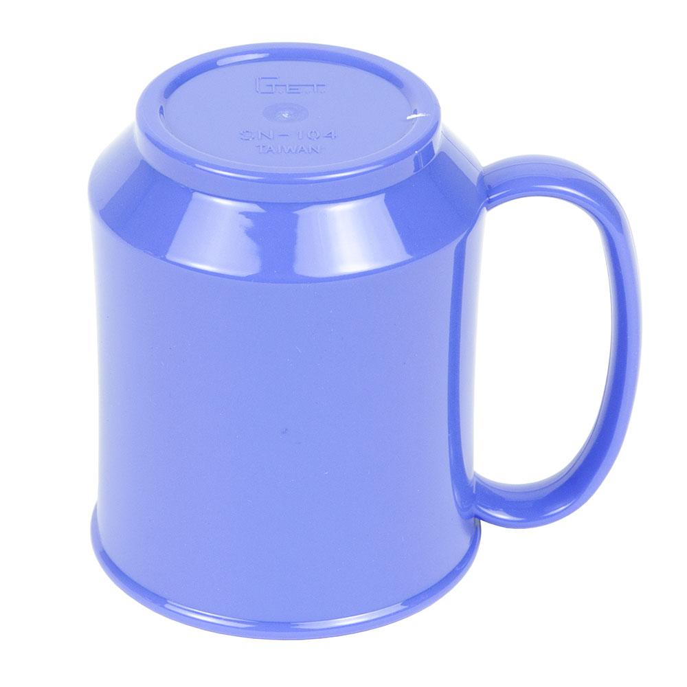 GET SN-104-PB 8-oz Coffee Mug, Plastic, Blue