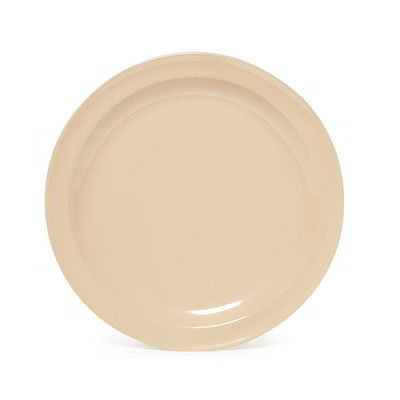"GET SP-DP-510-W 10.25"" Supermel I Dinner Plate, White Melamine"