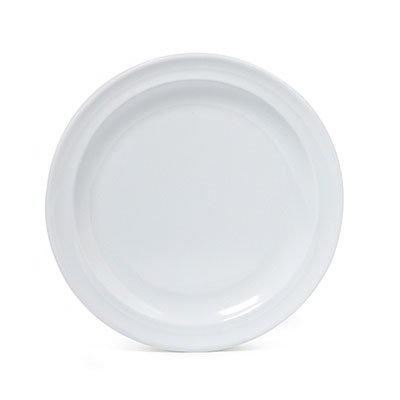 """GET SP-DP-507-W 7.25"""" Supermel I Dessert Plate, White Melamine"""