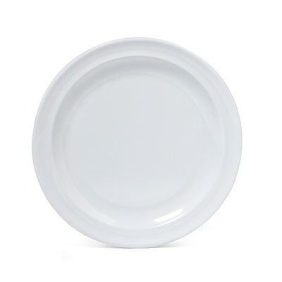 "GET SP-DP-508-W 8"" Supermel I Lunch Plate, White Melamine"