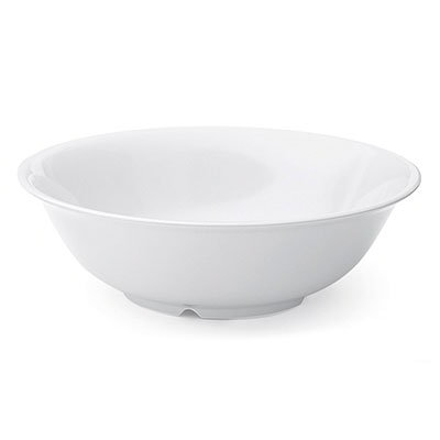 "GET SP-M-813-W 9.75"" Supermel Bowl w/ 2.3-qt Capacity, White Melamine"