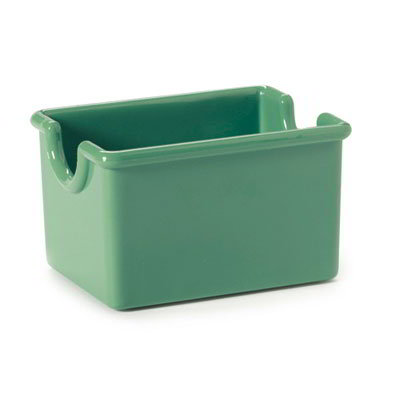 "GET SP-SC-66-FG Plastic Sugar Caddy, 3.5 x 2.5 x 2"" Deep, Forest Green"