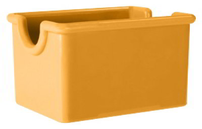 GET SP-SC-66-TY SAN Sugar Caddy, 3.5 x 2.5 x 2-in Deep, Tropical Yellow