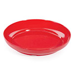 "GET ST-12-R 12"" Round Bar Tray, Red Melamine"
