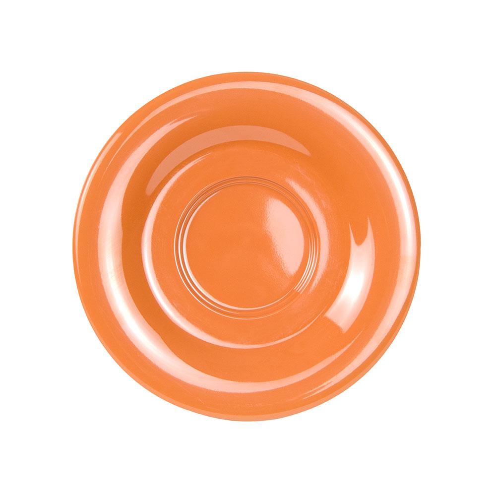"""GET SU-2-PK 5.5"""" Melamine Saucer For C-108, TM-1208 & TM-1308, Pumpkin"""