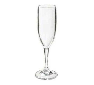 GET SW-1401-1-SAN-CL 6-oz Champagne Glass, Clear SAN