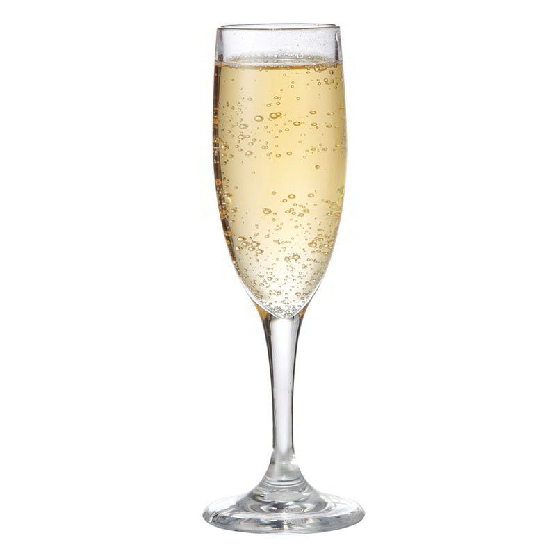 GET SW-1401-CL 6-oz Champagne Glass, Clear, SAN Plastic
