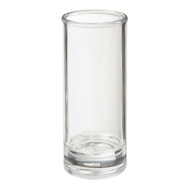 Get SW-1408-1-CL 3-oz Shooter Glass, Clear Plastic