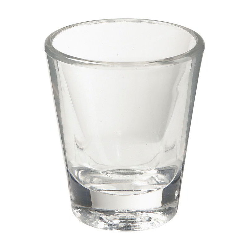 GET SW-1409-1-CL 1.5-oz Lined Shot Glass, Clear Plastic