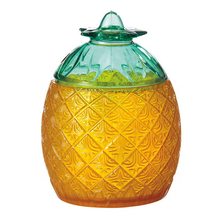 Get SW-1410-CL 20-oz Pineapple Glass, Specialty, SAN Plastic