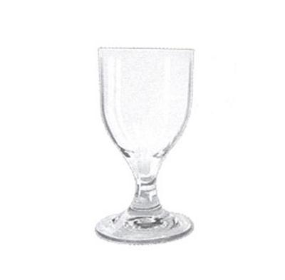 GET SW-1413-CL 8 oz Goblet, Clear, SAN Plastic