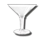 GET SW-1419-CL 48 oz Super Martini, Clear, SAN Plastic