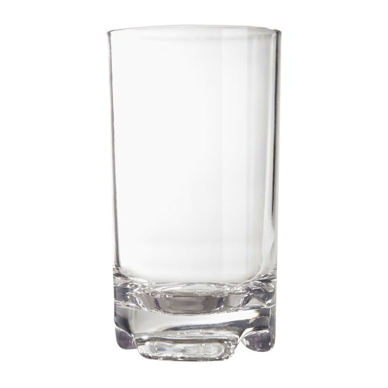 Get SW-1426-1-SAN-CL 14-oz Roc N Roll Beverage Glass, Clear Plastic Plastic