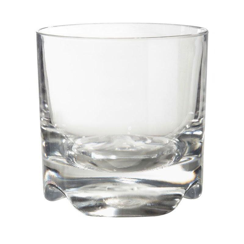 GET SW-1429-TRIT-CL 10-oz Roc N Roll Rocks Glass, Clear Plastic