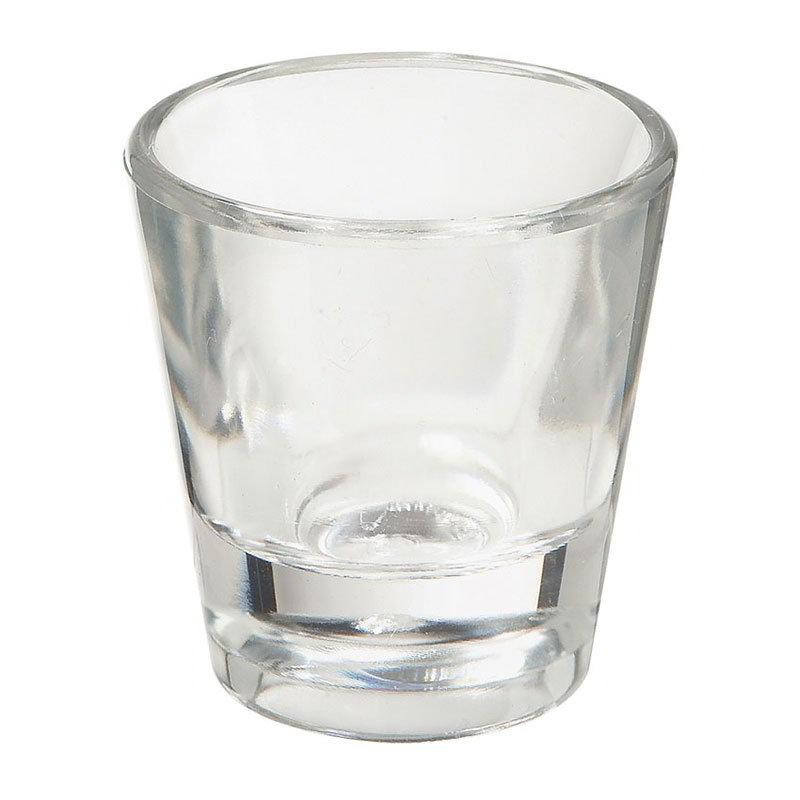 """GET SW-1433-1-CL 7/8-oz Shot Glass, 1-7/8"""" Diameter x 2.2"""" Tall, Clear Plastic"""
