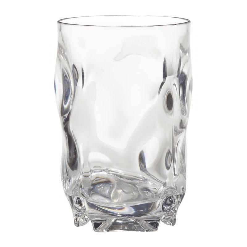 GET SW-1441-1-CL 14-oz L7 Beverage Glass, Clear Plastic