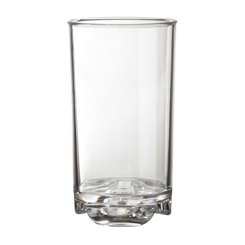 GET SW-1444-1-CL 12-oz Roc N Roll Beverage Glass, Clear Plastic