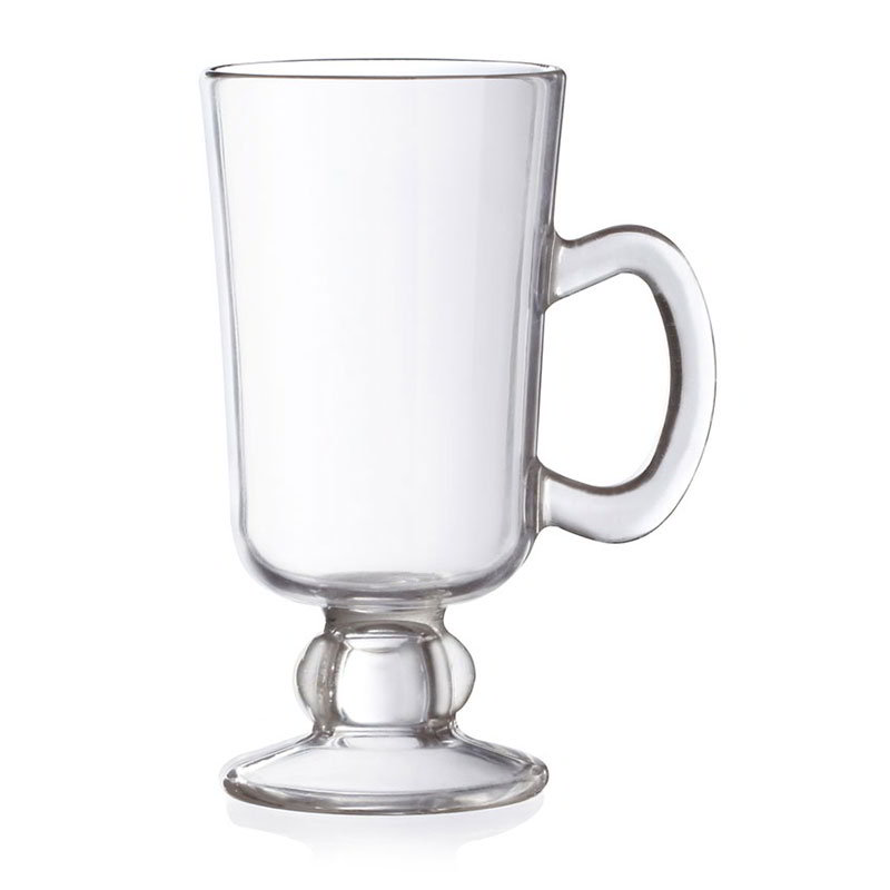 GET SW-1449-CL 10-oz Irish Coffee Mug - Plastic, Clear