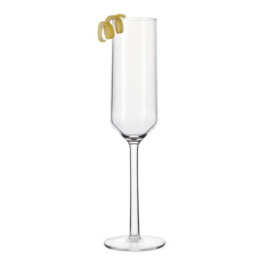 GET SW-1462-CL 6-oz Champagne Glass, Plastic, Clear