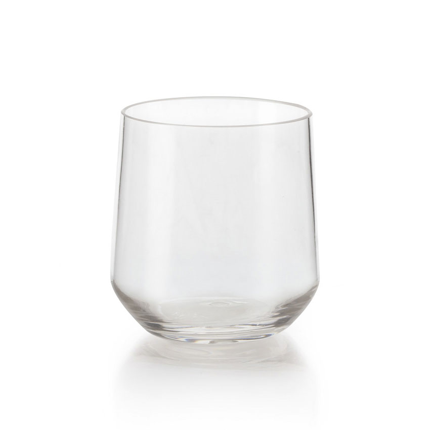 GET SW-1468-CL 10-oz Rocks Glass, Plastic, Clear