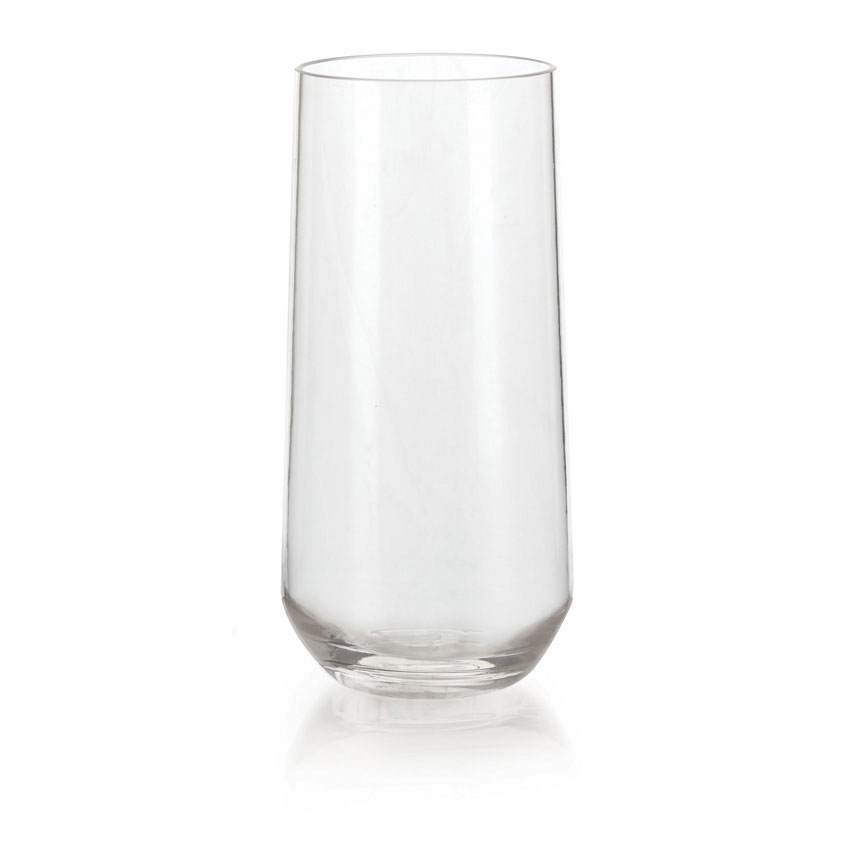 GET SW-1469-CL 16-oz Via Beverage Glass, Polycarbonate