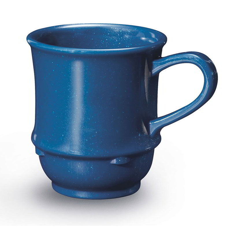 GET TM-1208-TB 8-oz Mug / Cup, Stacking, Plastic, Texas Blue