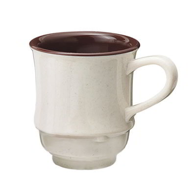 GET TM-1208-U 8-oz Plastic Mug / Cup, Stacking, Two-Tone