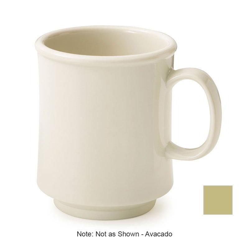 GET TM-1308-AV 8-oz Stackable Plastic Mug, BPA Free Material, Avocado