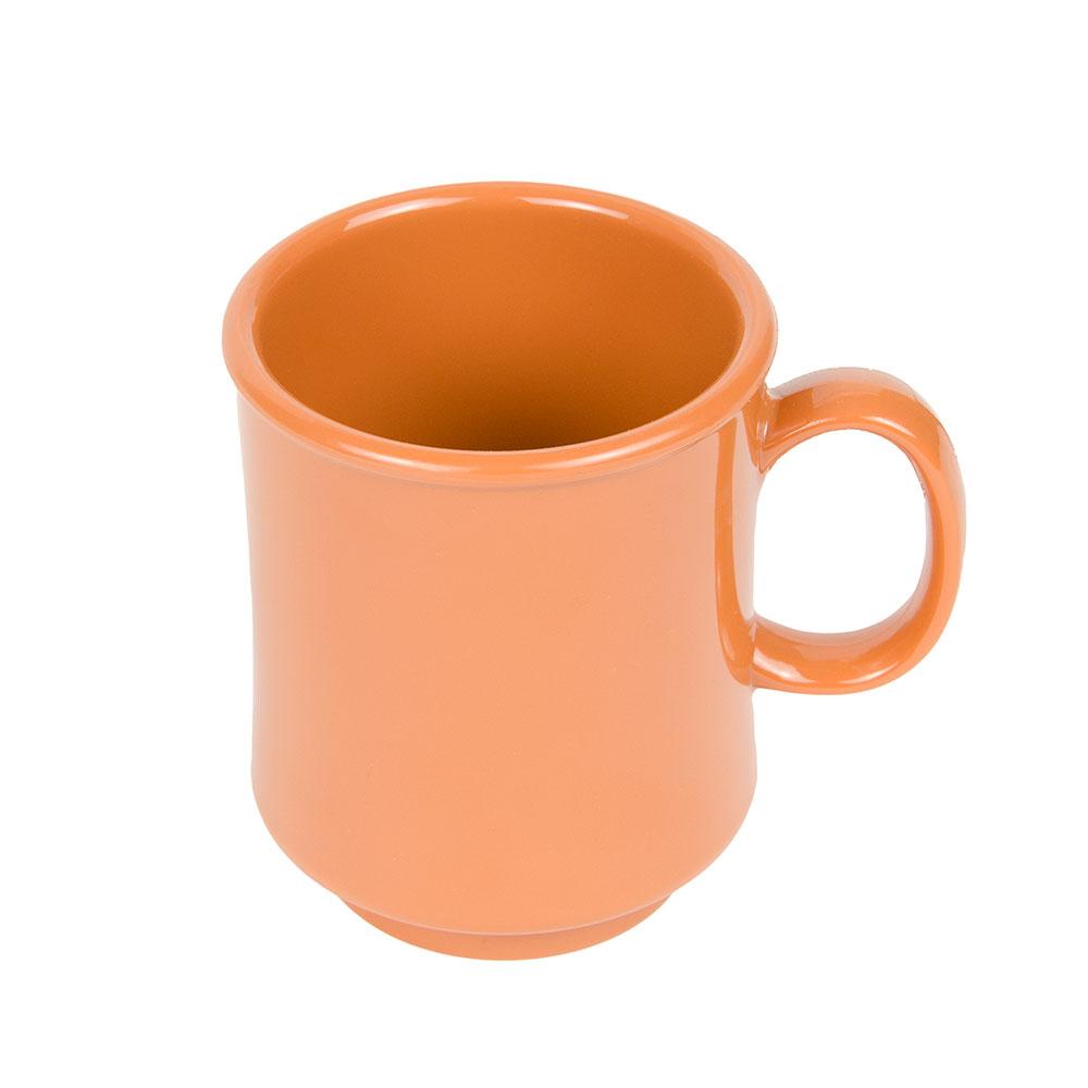 GET TM-1308-PK 8-oz Stackable Plastic Mug, BPA Free Material, Pumpkin